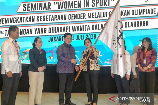 Erick Thohir resmikan Women Sport Foundation Indonesia