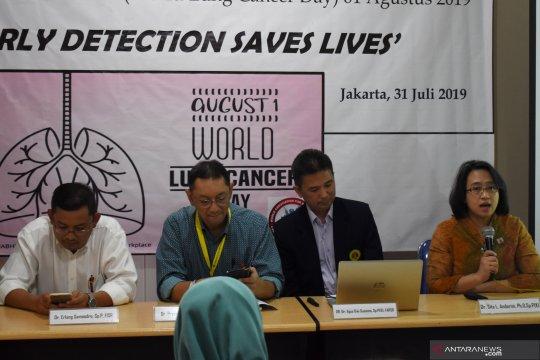 PDPI ingatkan kesadaran masyarakat bahaya kanker paru