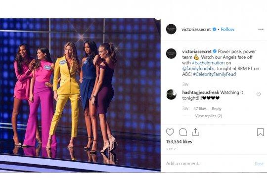 Peragaan busana Victoria's Secret 2019 dibatalkan