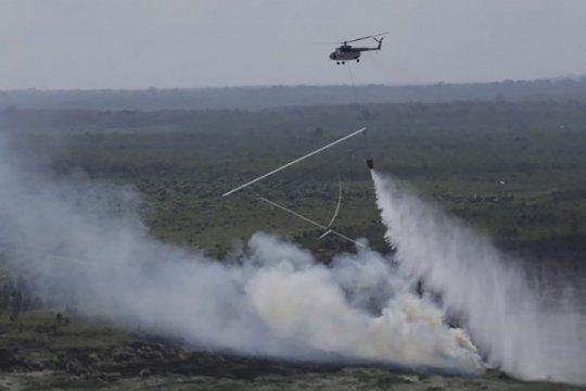"""Pemadaman api di Gunung Arjuno bakal menggunakan """"water bombing"""""""