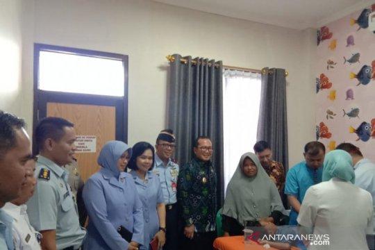 Lanud Supadio gelar bakti sosial kesehatan dalam rangka HUT TNI AU