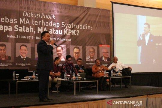 Pakar: KPK bisa lanjutkan penyidikan Sjamsul Nursalim dan Itjih