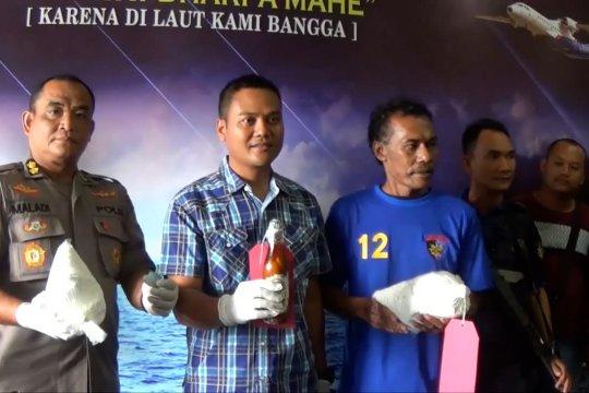 Ditpolairud Polda Babel amankan nelayan pengguna bom ikan