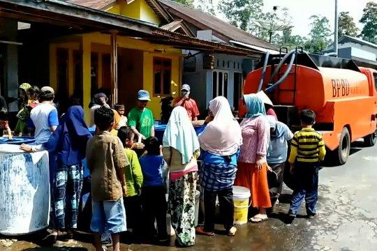 Dropping air 14 desa di Pemalang
