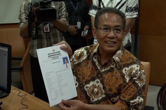 Merasa berpengalaman, mantan Kepala BNN Anang Iskandar daftar Capim KPK
