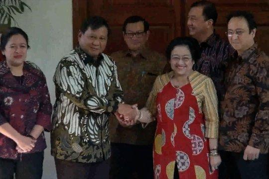 Prabowo temui Megawati di kediamannya
