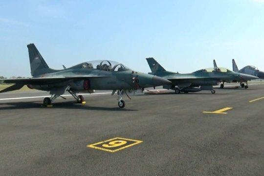 TNI-AU gelar 4 hari latihan tempur di Lanud Iswahjudi