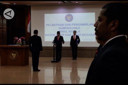 Irjen Pol Dharma Pongrekun resmi jadi Wakil Kepala BSSN