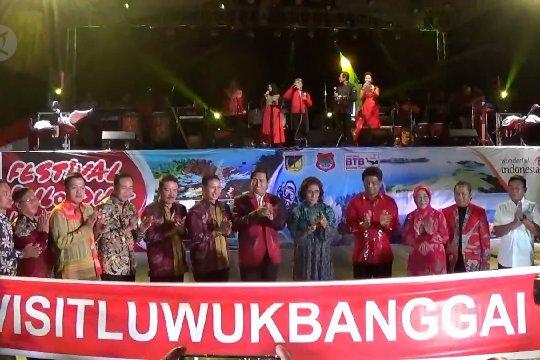 Menteri Susi buka festival Pulo Dua di Banggai