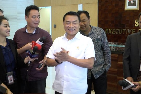 Moeldoko: pertemuan Jokowi dan Prabowo bukan lagi prioritas