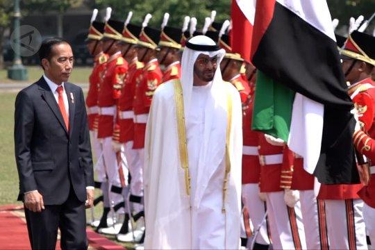 Putra Mahkota UEA disambut meriah di Istana Bogor