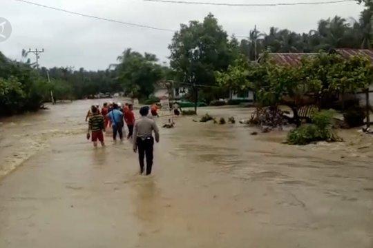 4 Kecamatan di Banggai diterjang banjir
