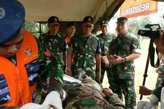 KSAU pantau aksi prajurit Yonkes menolong korban perang