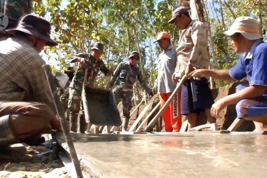 Kasdam IV Diponegoro ingatkan TMMD selesai sesuai target