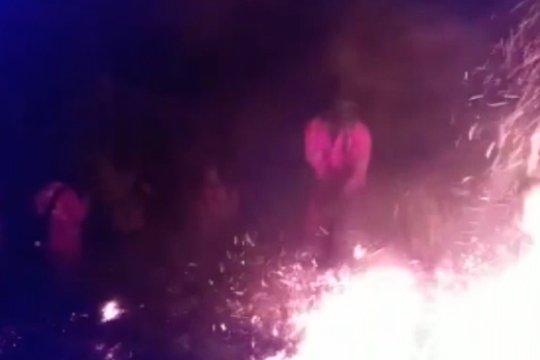 Kebakaran di tiga titik sekaligus, Manggala Agni ingatkan warga waspada