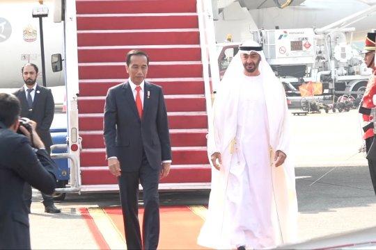 Presiden balas sambutan putra mahkota UEA