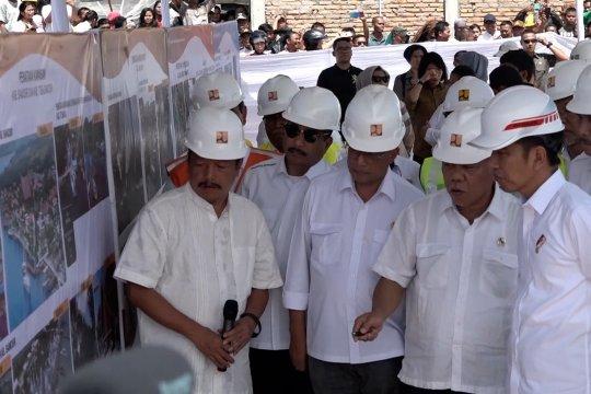 Presiden berharap kapal bisa memutari Pulau Samosir