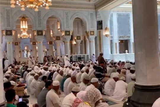 Suasana Shalat Jumat di Masjidil Haram