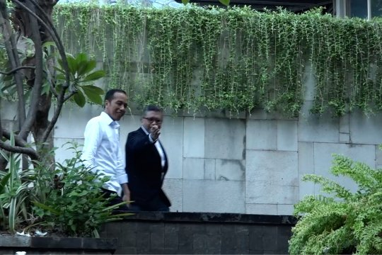 Jokowi : Prabowo dan Mega adalah sahabat baik
