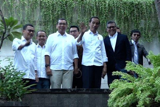 Jokowi tegaskan belum menambah anggota koalisi