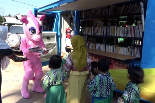 Perpustakaan keliling tumbuhkan minat baca sejak usia dini