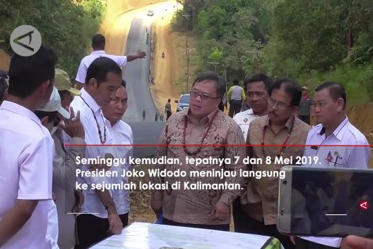 Presiden Jokowi : Saya sampaikan dari dulu ibu kota pindah ke Kalimantan