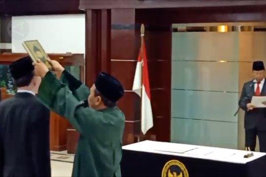 Menko Polhukam lantik Sekjen DKN Laksda TNI Ahmad Jamaludin
