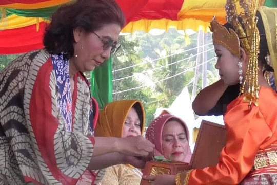 Menteri Susi jadi penyokong  pariwisata Anambas