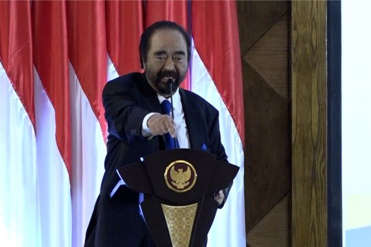 Surya Paloh sebut Joko Widodo sebagai kader partai Nasdem