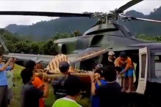Satgas Tinombala evakuasi ibu hamil