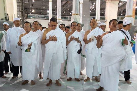 Delegasi Amirul Hajj Indonesia tiba di Mekkah tunaikan umrah wajib