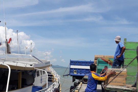 370.000 pak rokok asal Singapura dibawa ke Filipina via Nunukan