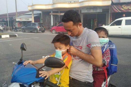 Dinkes Palembang imbau warga gunakan masker hindari asap