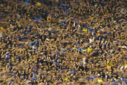 Fans Kolombia yang tertahan di Argentina minta dipulangkan