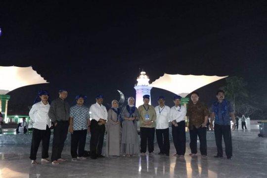 Peserta Diklatpim II diajak keliling kawasan Banten Lama