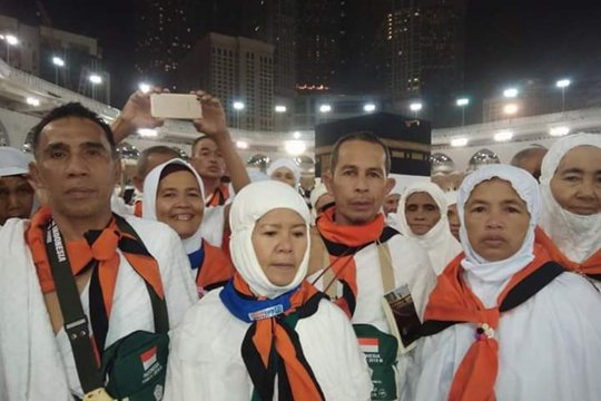 Seluruh jamaah haji Jambi telah diberangkatkan ke Mekkah