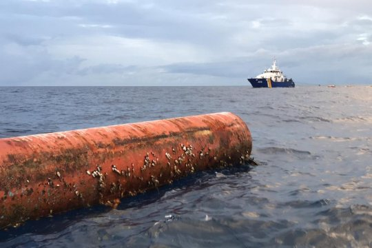 KKP tertibkan enam rumpon nelayan Filipina