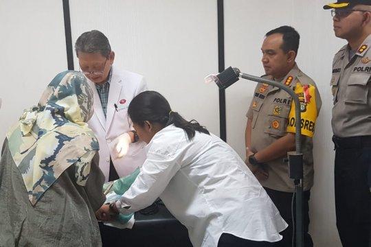 Polres Metro Jakut bantu pengobatan bayi yang dibuang ibunya