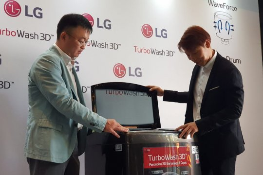 LG ingin kuasai pasar mesin cuci kelas menengah atas di Indonesia