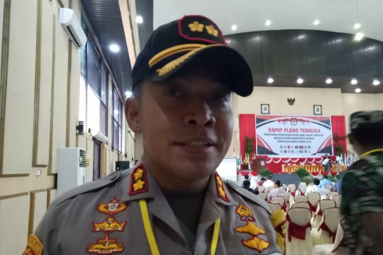 384 Personel Polri-TNI amankan pleno KPU Mimika