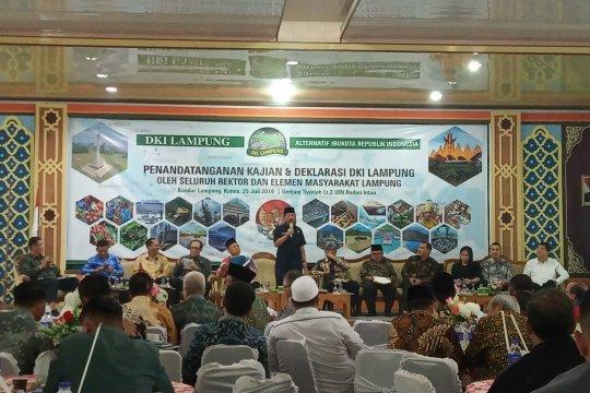 Rekawan DKI Lampung: Masih ada waktu serahkan kajian ke Jokowi