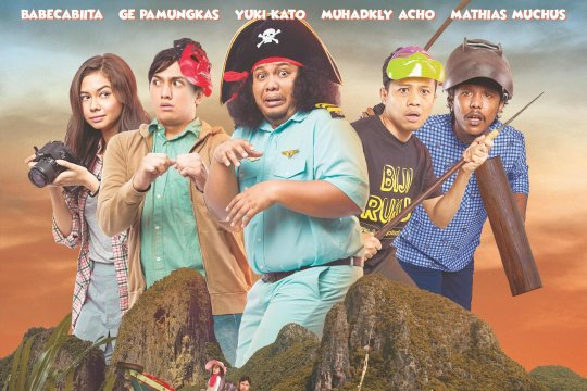 """""""Kapal Goyang Kapten"""" hadirkan komedi pembajakan kapal"""