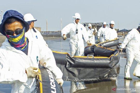 Pertamina bantah skema gross split pada insiden tumpahan minyak ONWJ