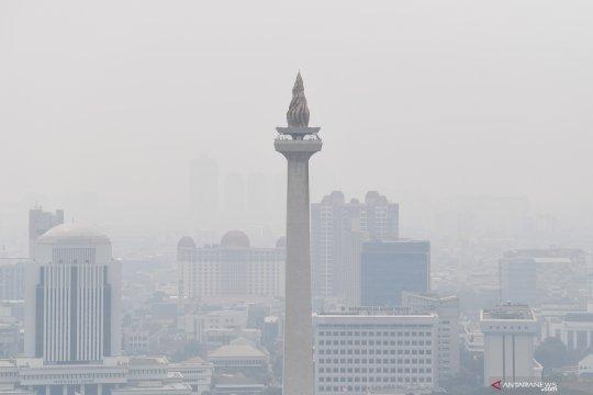 Kamis siang kualitas udara di Jakarta terburuk di dunia
