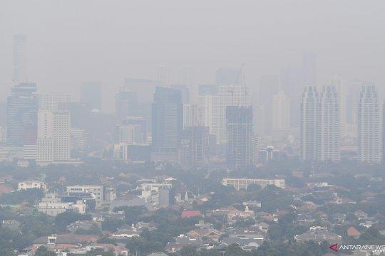 Kualitas udara Jakarta sore hari tidak sehat untuk kelompok sensitif