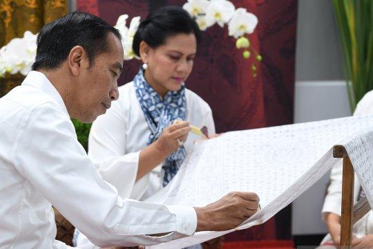 Presiden hadiri kegiatan batik kemerdekaan