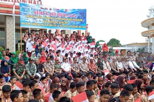 Wali Kota Padang apresiasi kegiatan simulasi gempa dan tsunami