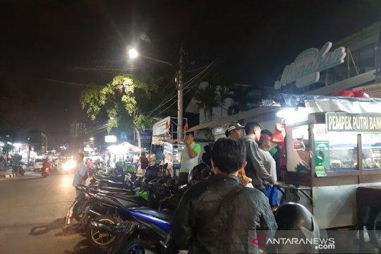 BPBD evakuasi warga di sepanjang pantai Pelabuhan Ratu Sukabumi