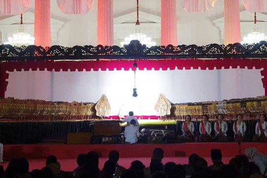 KSP: Pagelaran wayang di istana bentuk pelestarian budaya