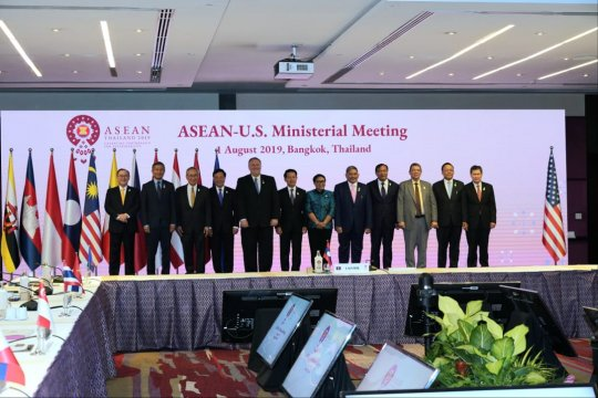 Menlu Retno singgung isu Palestina dalam pertemuan ASEAN-AS